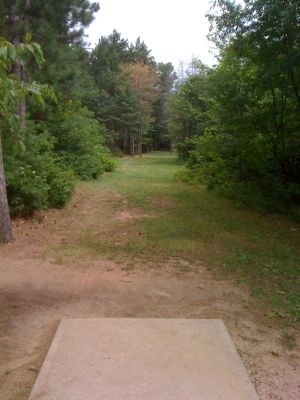 Yulga, Main course, Hole 7 Long tee pad