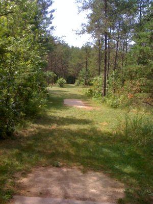 Yulga, Main course, Hole 13 Long tee pad