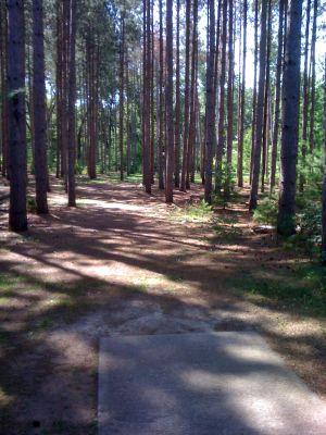 Yulga, Main course, Hole 3 Long tee pad