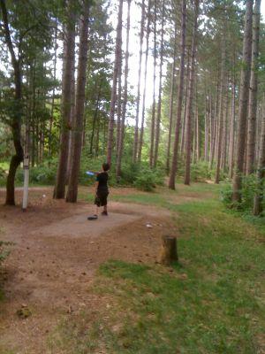 Yulga, Main course, Hole 15 Middle tee pad