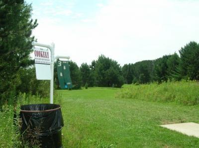 Sugar Camp DGC, Main course, Hole 3 Hole sign
