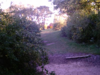 University of Wisconsin Whitewater, Main course, Hole 2 Middle tee pad