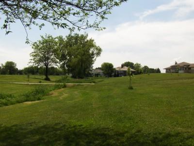 Evans Park, Main course, Hole 3 Tee pad