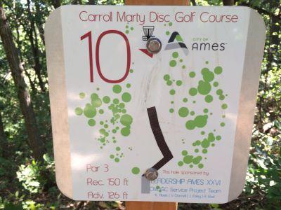 Gateway Hills Park, Carroll Marty, Hole 9 Short tee pad