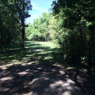 Gateway Hills Park, Carroll Marty, Hole 7 Short tee pad