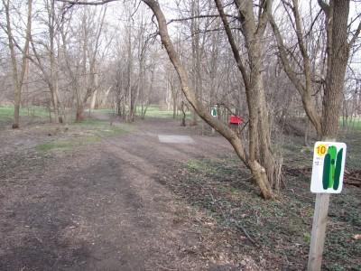 Iowa State University, Stable Run, Hole 10 Long tee pad
