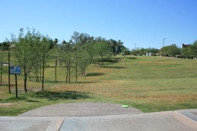 Fountain Hills Park, Main course, Hole 10 Tee pad