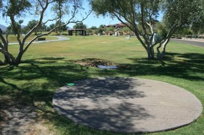 Fountain Hills Park, Main course, Hole 4 Tee pad