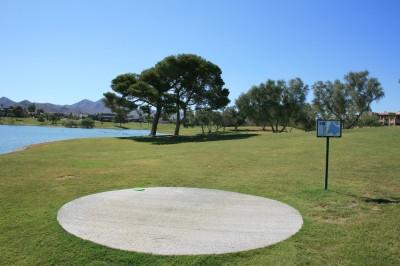 Fountain Hills Park, Main course, Hole 6 Tee pad