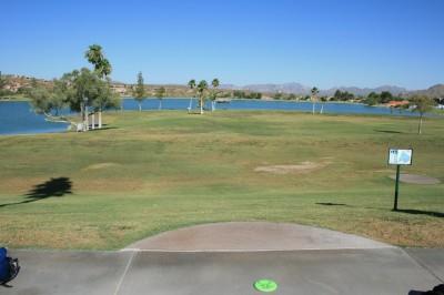 Fountain Hills Park, Main course, Hole 15 Tee pad