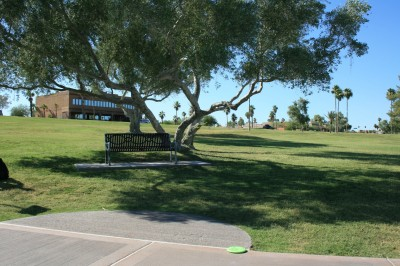 Fountain Hills Park, Main course, Hole 13 Tee pad