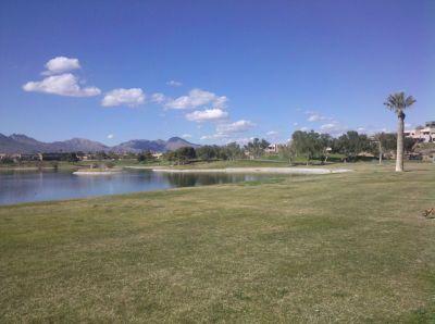 Fountain Hills Park, Main course, Hole 2 Midrange approach