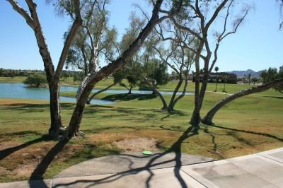 Fountain Hills Park, Main course, Hole 9 Tee pad