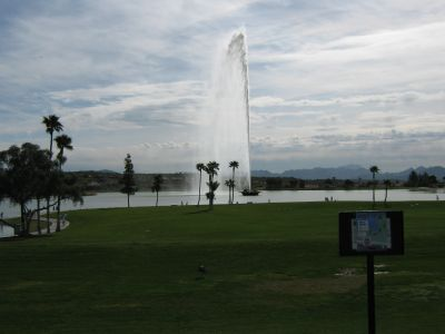 Fountain Hills Park, Main course, Hole 15 Long tee pad