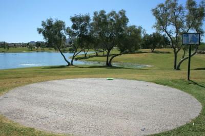 Fountain Hills Park, Main course, Hole 7 Tee pad