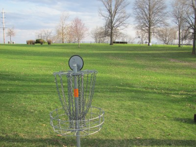 Franklin Park, Main course, Hole 1 Reverse (back up the fairway)
