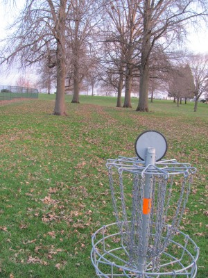 Franklin Park, Main course, Hole 2 Reverse (back up the fairway)