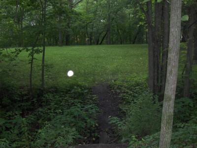 McHose Park, Main course, Hole 17 Short tee pad