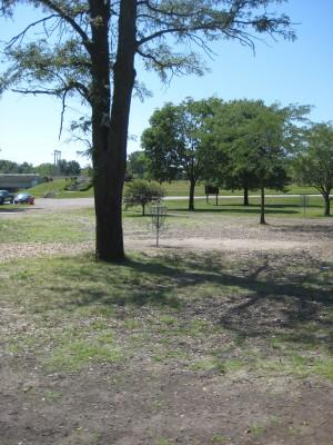 Tourist Park, Main course, Hole 2 Putt