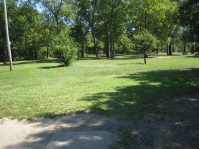 Tourist Park, Main course, Hole 6 Tee pad