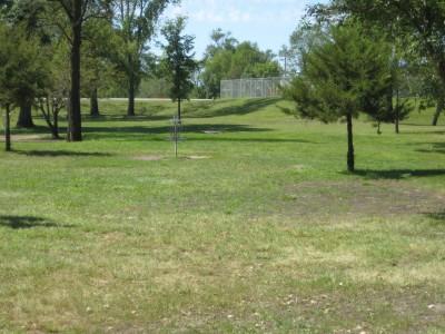 Tourist Park, Main course, Hole 5 Putt
