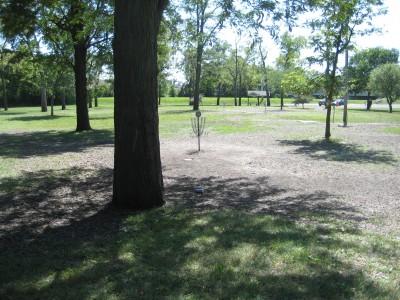 Tourist Park, Main course, Hole 7 Putt