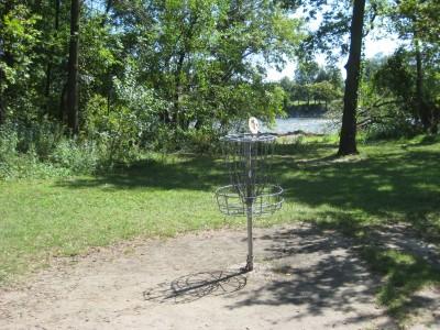 Tourist Park, Main course, Hole 1 Putt