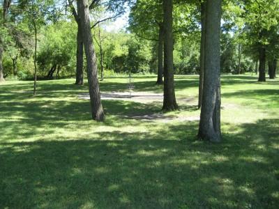 Tourist Park, Main course, Hole 6 Putt