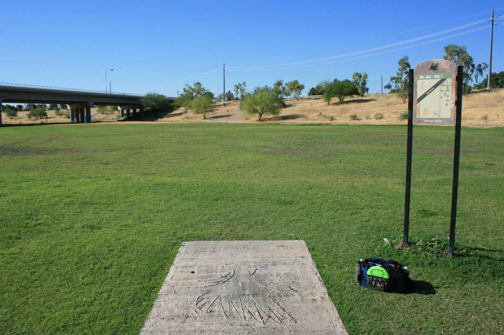Hole 1 • Thunderbird-Paseo (Glendale, AZ) | Disc Golf