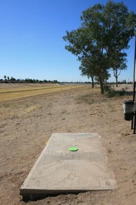 Thunderbird-Paseo, Main course, Hole 8 Tee pad