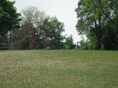 Jones Park, Main course, Hole 16 Tee pad