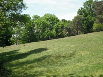 Jones Park, Main course, Hole 13 Tee pad