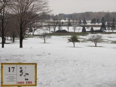 Jones Park, Main course, Hole 17 Tee pad
