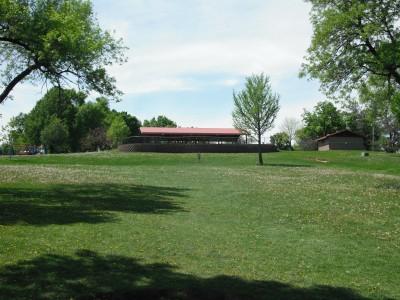 Jones Park, Main course, Hole 5 Tee pad