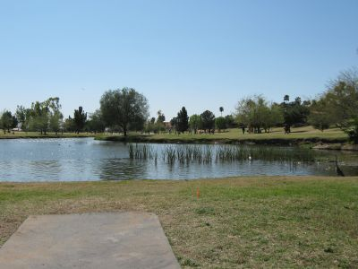Vista Del Camino Park, Main course, Hole 6 Long tee pad