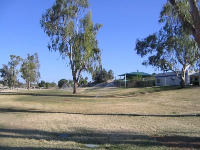 Vista Del Camino Park, Main course, Hole 4 Tee pad