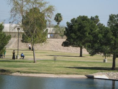Vista Del Camino Park, Main course, Hole 14 Long tee pad