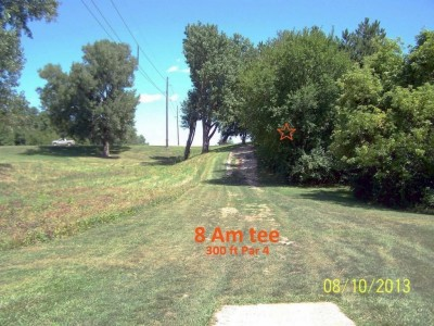West Lake Park, Main course, Hole 8 Short tee pad
