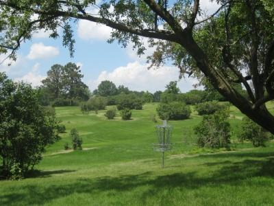 Ewing Park, Main course, Hole 15 Short approach