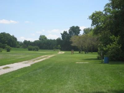 Ewing Park, Main course, Hole 12 Long tee pad