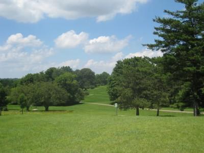 Ewing Park, Main course, Hole 15 Long tee pad