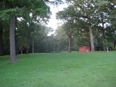 Grandview Park, Main course, Hole 4 Midrange approach