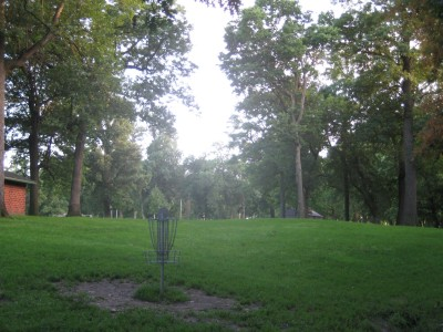 Grandview Park, Main course, Hole 4 Reverse (back up the fairway)
