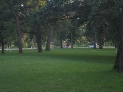 Grandview Park, Main course, Hole 5 Long tee pad