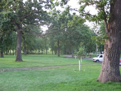 Grandview Park, Main course, Hole 1 Long tee pad