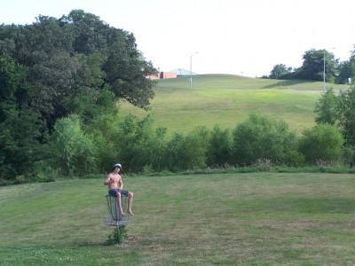 Southwoods Park, Main course, Hole 9 Putt