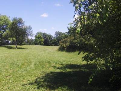 Walnut Ridge Recreation Area, Main course, Hole 2 Short tee pad