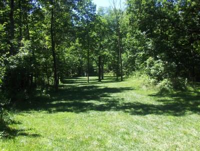 Walnut Ridge Recreation Area, Main course, Hole 4 Short tee pad