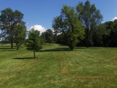 Walnut Ridge Recreation Area, Main course, Hole 16 Short tee pad