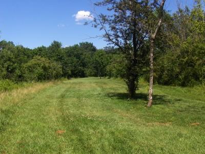 Walnut Ridge Recreation Area, Main course, Hole 9 Short tee pad